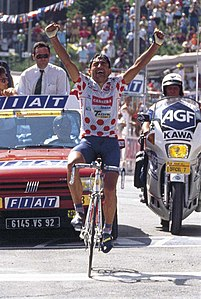 201px Tour De France 1992 (Saint Gervais Les Bains – Sestriere)   Claudio Chiappucci