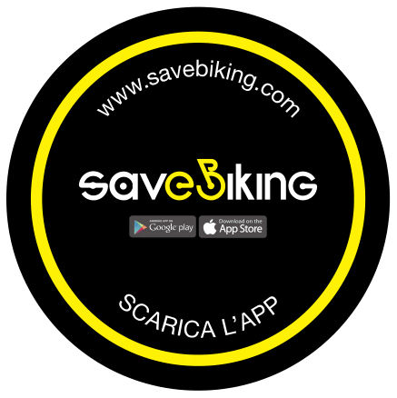 Savebiking Tondo App Nero ITA PNG – Copia